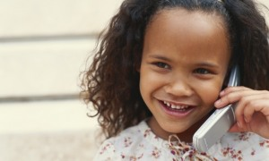 young-black-girl-on-cell-phone