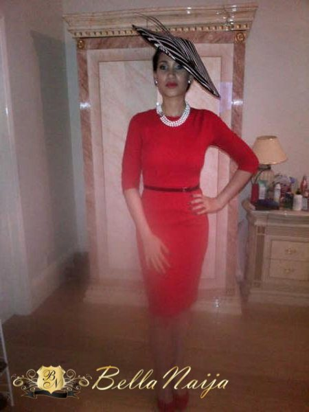 Star actress, Caroline Danjuma steps out in hot revealing