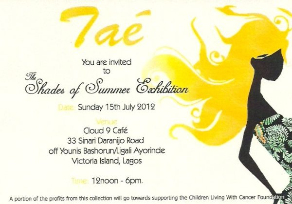 Invitation card for garment exhibition 28 images invitation events this weekend bellanaija stopboris Gallery
