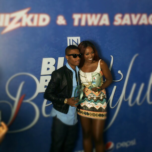 Tiwa Savage & Wizkid are the New Pepsi Ambassadors! First
