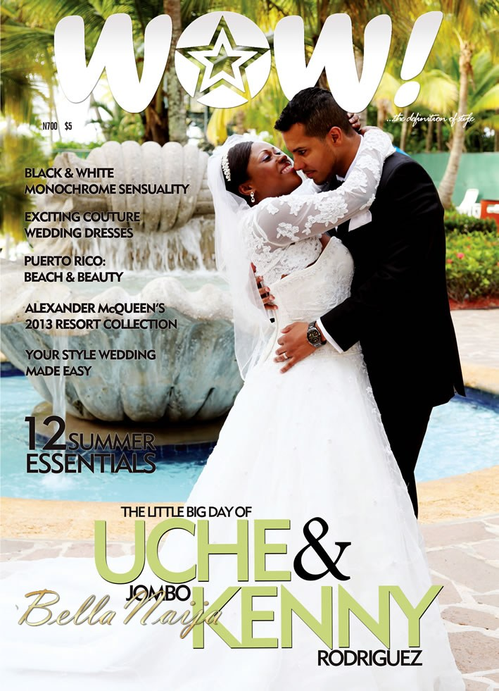 Nollywood Star Uche Jombo And Her Love Kenny Rodriguez Celebrated Their Wedding In Picturesque Puerto Rico Recently The Ny Based