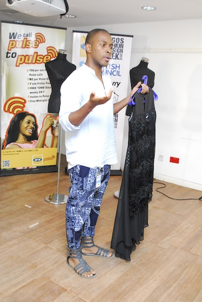 2012 MTN British Council LFDW Young Designer of the Year finalist - Agu Anumudu