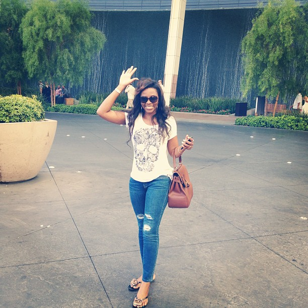 Bn bytes genevieve nnaji s road trip to las vegas in for Style at home instagram