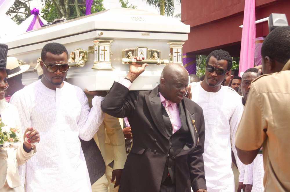 P Square Mother Burial Video Photos