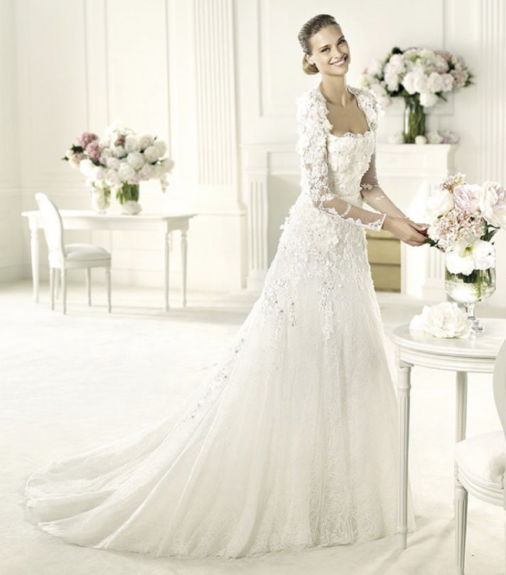 Bn bridal elie by elie saab for pronovias 2013 collection for Wedding dress pictures 2013