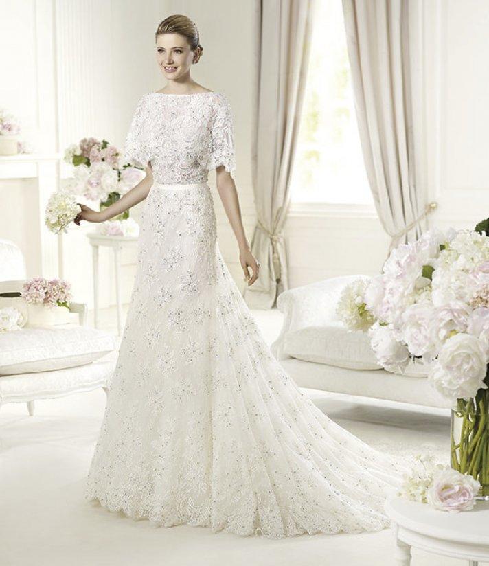 Bn bridal elie by elie saab for pronovias 2013 collection for Elie saab 2012 wedding dresses