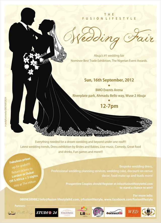 Wedding Fair Goody Bag Ideas : Abuja s number 1 Wedding FairThe Fusion Lifestyle Wedding Fair ...