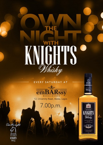 Own the Night with Knights Whisky