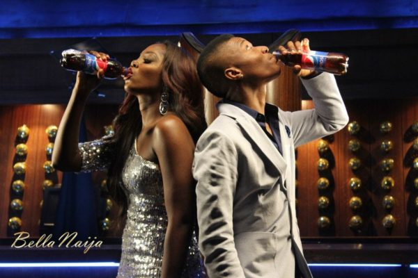 Bn Exclusive Quot Wizkid Amp Tiwa Battle It Out For A Bottle Of