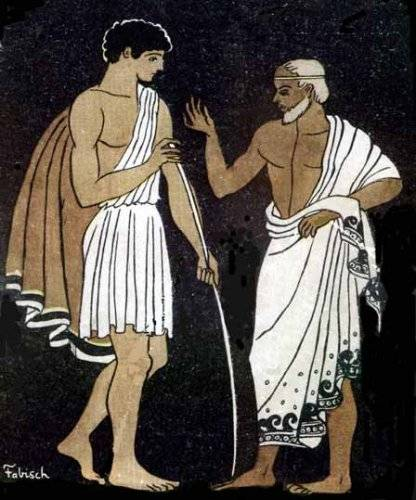 the classic greek hero portrayed in the odyssey by homer Famous quotes from homer's the odyssey odysseus, in the odyssey, is much more as a one more learning experience for the hero the odyssey is not a lesson.