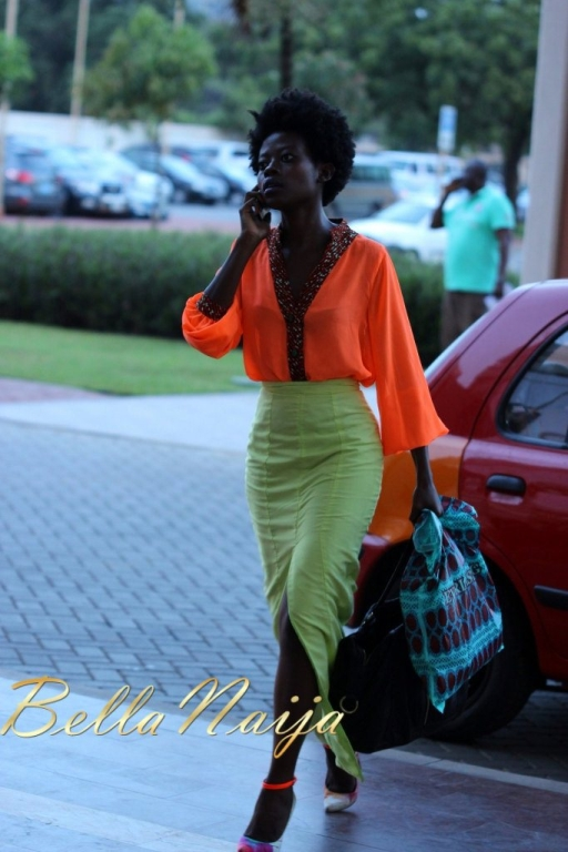 2012 Ghana Fashion Design Week Day 1 Street Style