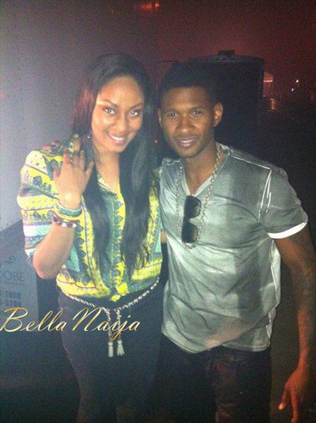 Munachi & Usher Raymond