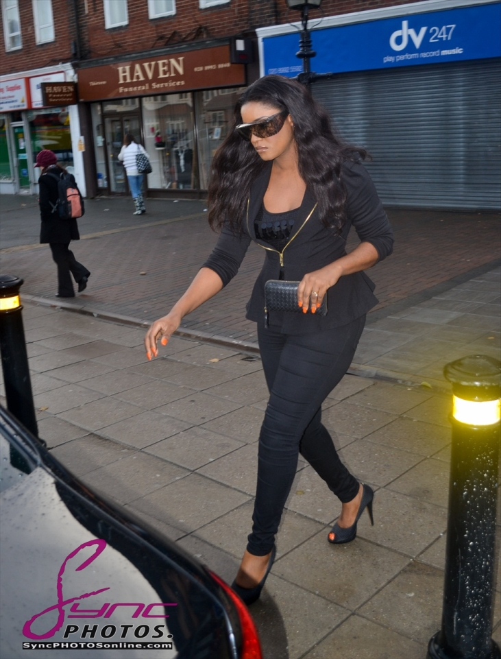 Omotola Jalade-Ekeinde Arrives in London for Amina Premiere - October 2012 - BellaNaija002