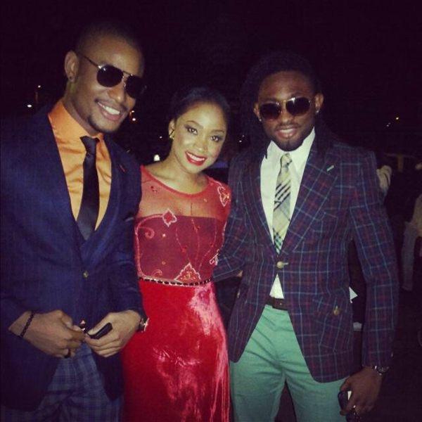 Alex Ekubo, Uru Eke & Uti Nwachukwu