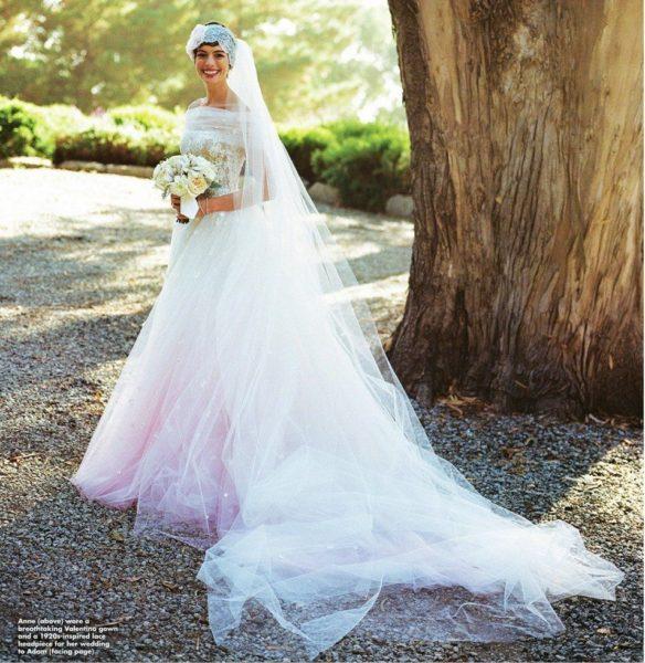 Anne Hathaway Wedding Valentino -  November 2012 - BellaNaija013