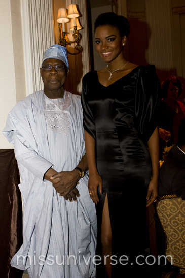 SOUTH SOUTH UN AWARDS OBASANJO MISS UNIVERSE BN