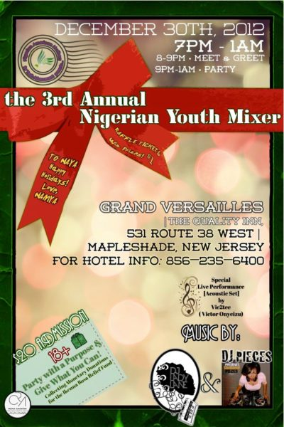 3rd Annual Nigerian Youth Mixer