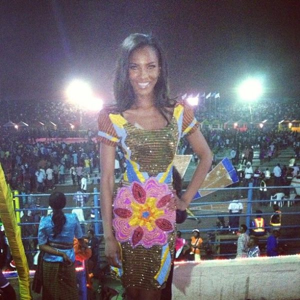 Agbani in Iconic Invanity at the Closing Ceremony from CARNIRIV