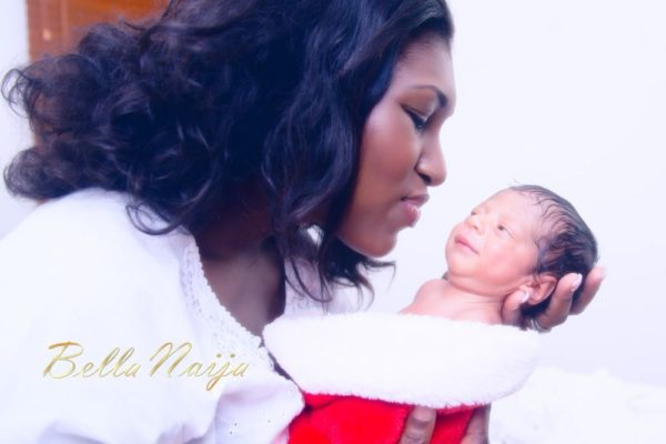 BN Exclusive Ufuoma Ejenobor & Steven McDermott Son  - December 2012 - BellaNaija009