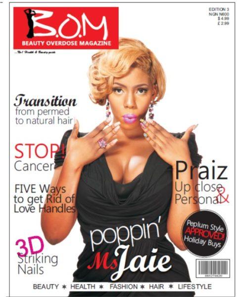 Beauty Overdose Magazine Ms. Jaie