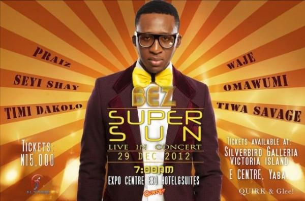 Bez - Super Sun Concert