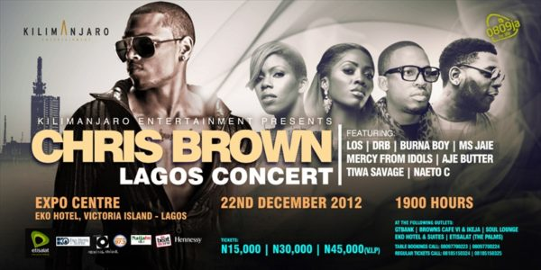 Chris Brown Lagos Concert