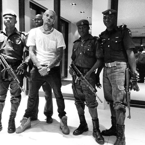 Chris Brown Lagos Social Media  - December 2012 - BellaNaija002