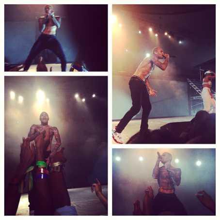 Chris Brown Lagos Social Media  - December 2012 - BellaNaija005
