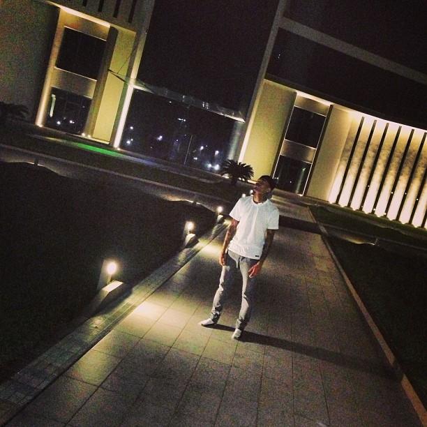 Chris Brown Lagos Social Media  - December 2012 - BellaNaija006