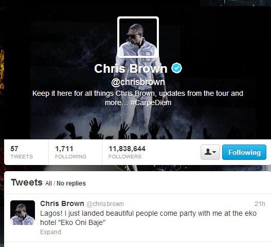 Chris Brown Lagos Social Media  - December 2012 - BellaNaija014