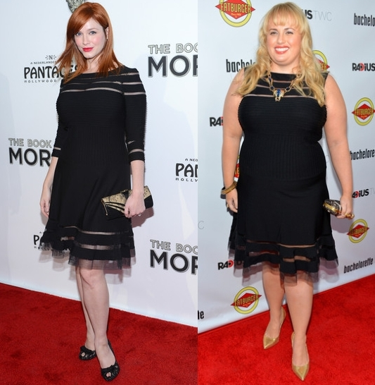 Christina Hendricks & Rebel Wilson