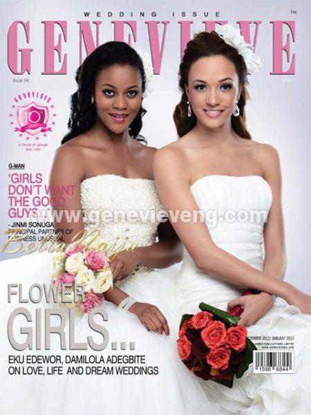 Damilola Adegbite & Eku Edewor - Genevieve Magazine January-December Issue