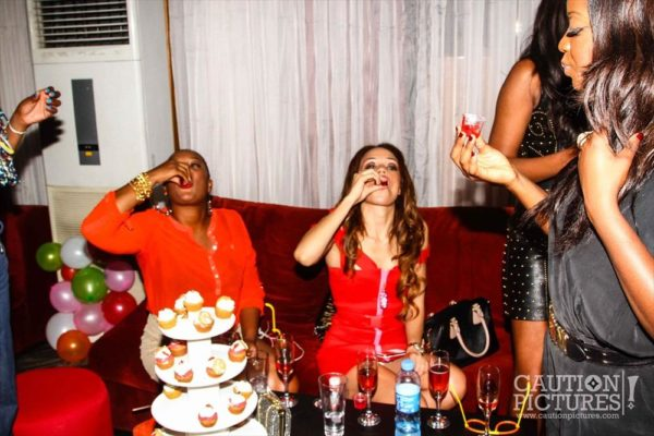 Eku & Kessiana Edewor's Birthday Party - December  2012 - BellaNaija009