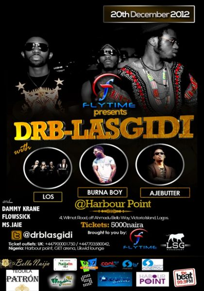 Flytime presents DRB Lasgidi