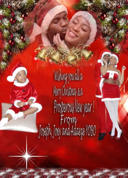 Joseph Adaeze Yobo Christmas  - December 2012 - BellaNaija005