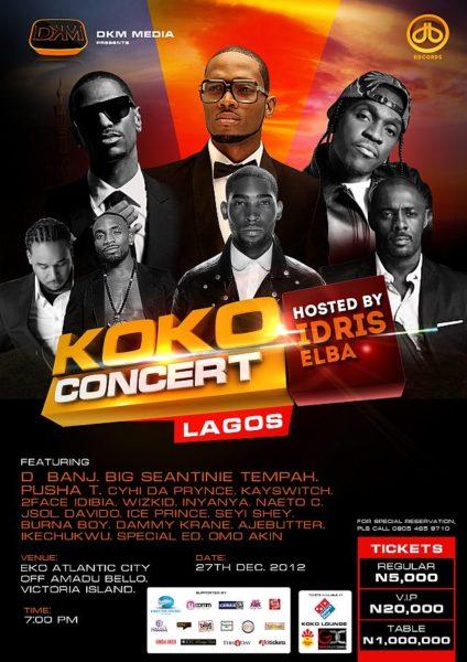 Koko Concert 2012