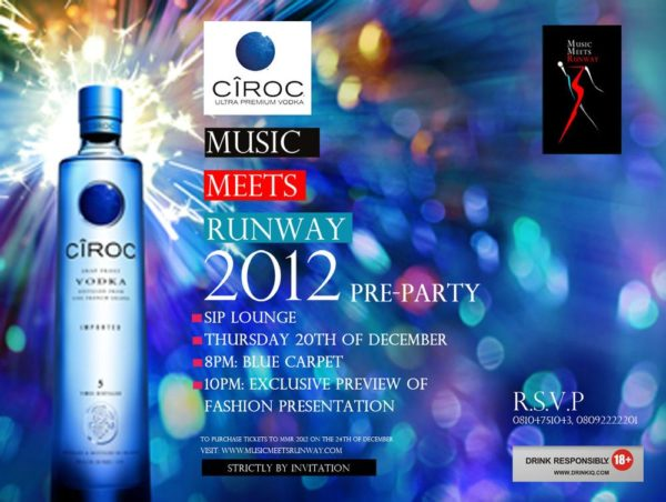 Music Meets Runway 2012 Pre-Party