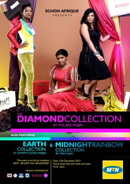 Schon Afrique presents The Diamond Collection by Folake Majin