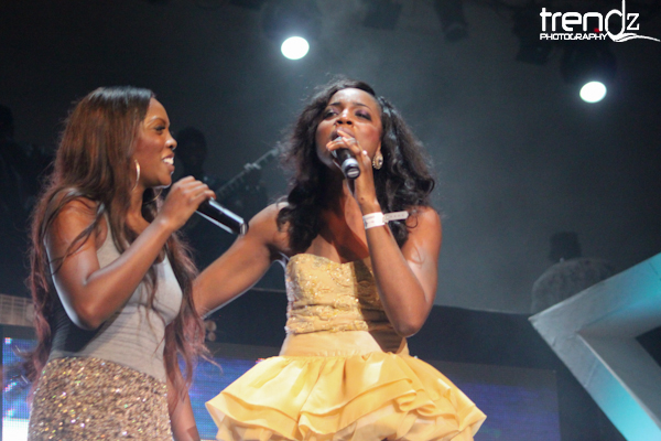 Tiwa Savage & Seyi Shay