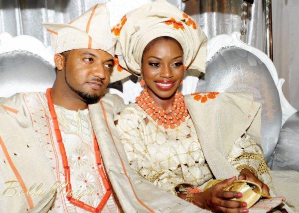 Tolu Odukoya & Olumide IjogunTraditional Engagement Photonimi - December 2012 - BellaNaija920
