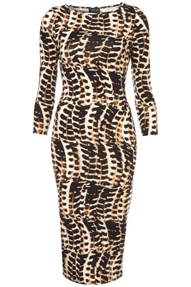 Tribal Animal Bodycon Dress