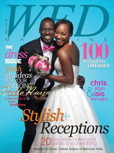 WED Magazine Dress Issue Cover - BellaNaija