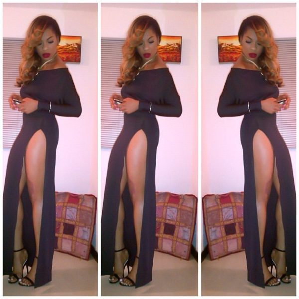 Yvonne Nwosu Vonne Black Ball BellaNaija