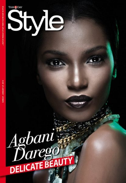 AD by Agbani Darego ThisDay Style 2013 - January 2013 - BellaNaija001