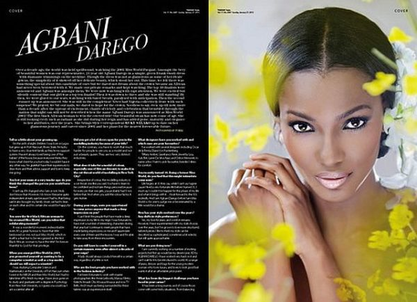 AD by Agbani Darego ThisDay Style 2013 - January 2013 - BellaNaija002