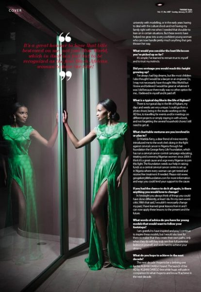 AD by Agbani Darego ThisDay Style 2013 - January 2013 - BellaNaija003