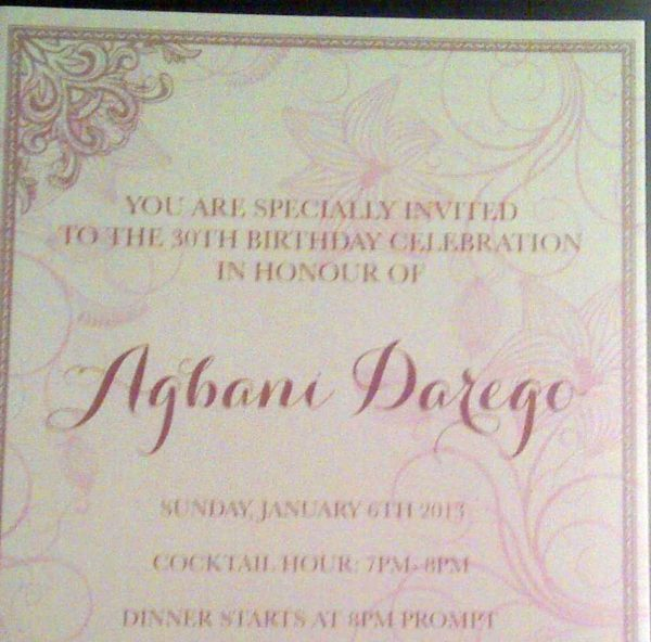 Peek of the Invitation