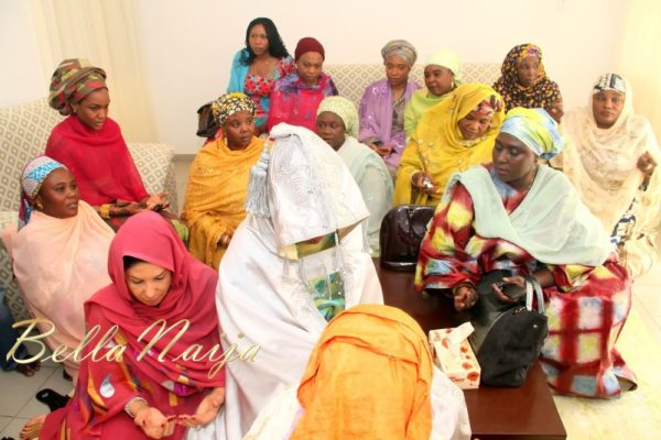 Aisha Mohammed Sheriff & Ibrahim Abdullahi Atta Bride's Send Forth - January 2013 - BellaNaija083
