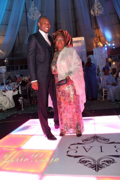 Aisha Mohammed Sheriff & Ibrahim Abdullahi Atta Wedding Dinner - January 2013 - BellaNaija469