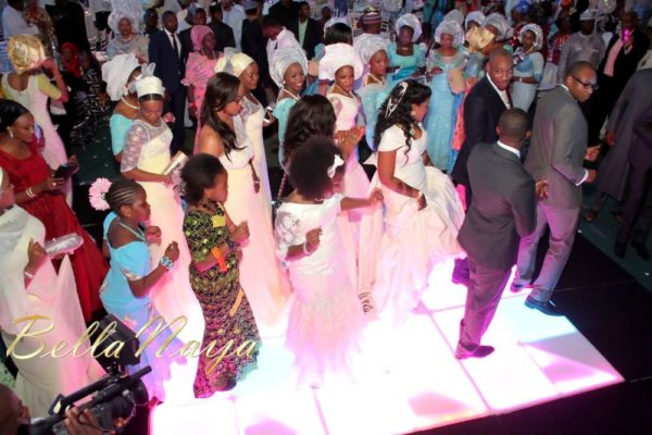 Aisha Mohammed Sheriff & Ibrahim Abdullahi Atta Wedding Dinner - January 2013 - BellaNaija492
